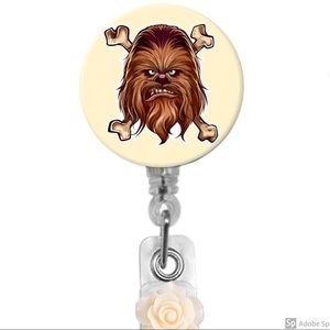 Star Wars Chewbacca Retractable Badge Holder